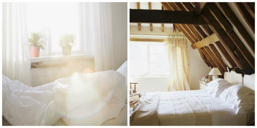 Schlafzimmer Landhausstil Collage
