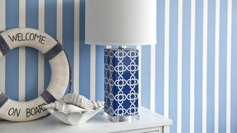 Wandgestaltung Im Schlafzimmer Mit Maritim Look
