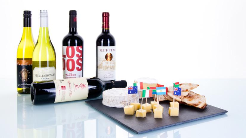 Richtige Weinlagerung und Käse sorgen für tollen Weingenuss