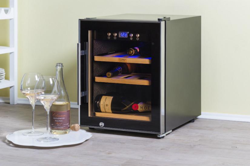 Weinkühlschrank für die Weinlagerung
