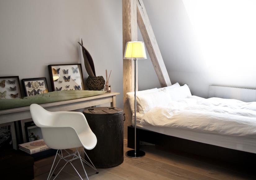 Fensterrollos Schlafzimmer