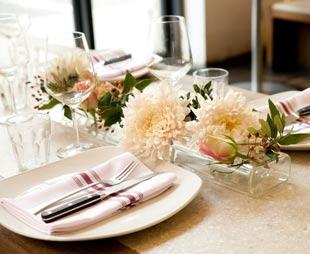 Tischdekoration - Stoffservietten