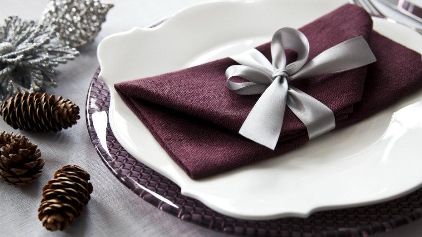 servietten falten weihnachten