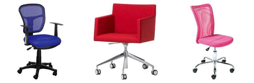 Farbige Bürostühle für Arbeitszimmer Ideen