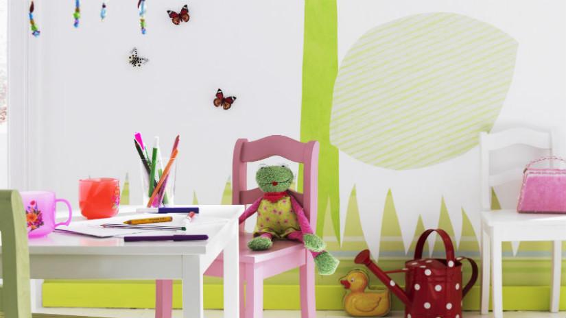 Kinderzimmer Bilder an der Wand
