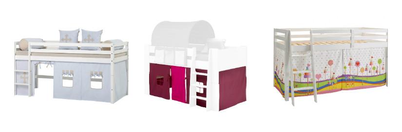 Hochbett für kleine Kinderzimmer