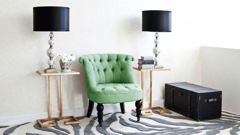 Dunkerlgrüner Sessel