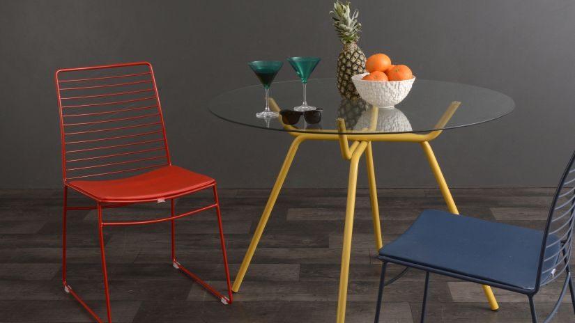 Deko Stühle aus Metall