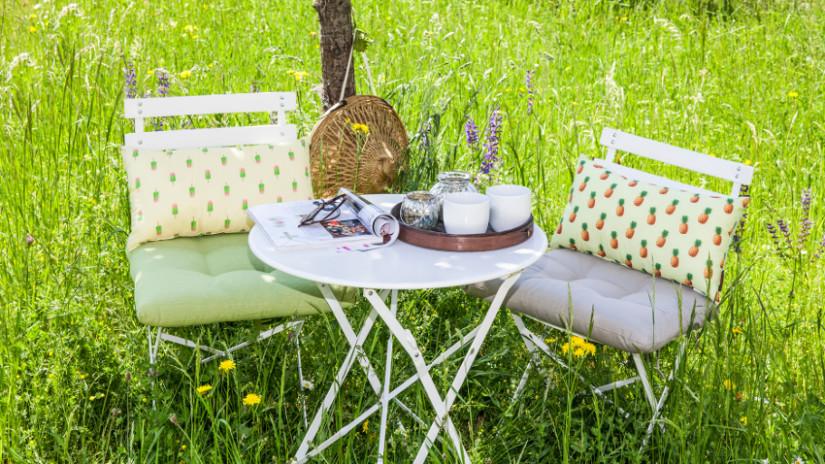 Gartenparty Deko im Country Style