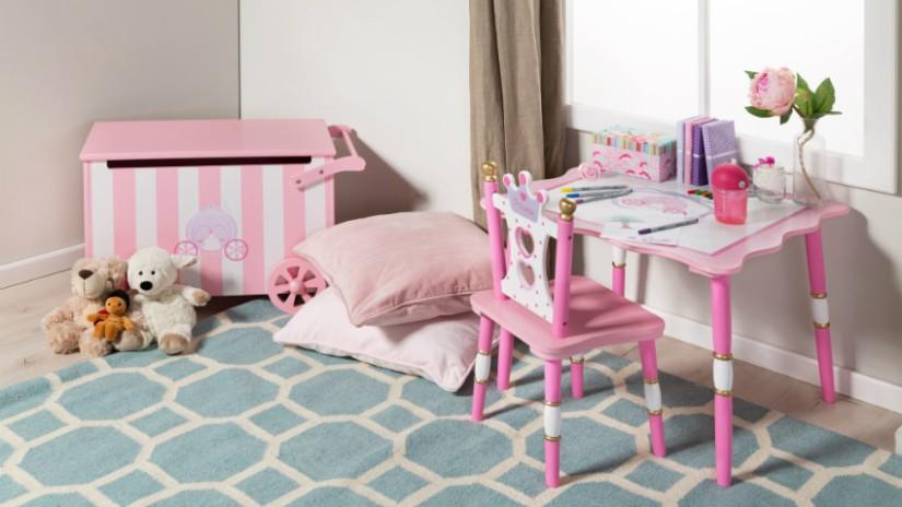 Kinderzimmer Farben mit Rosa und Pink