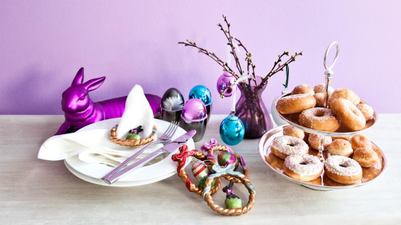 Osterdeko und Leckereien zum Osterfest selber machen