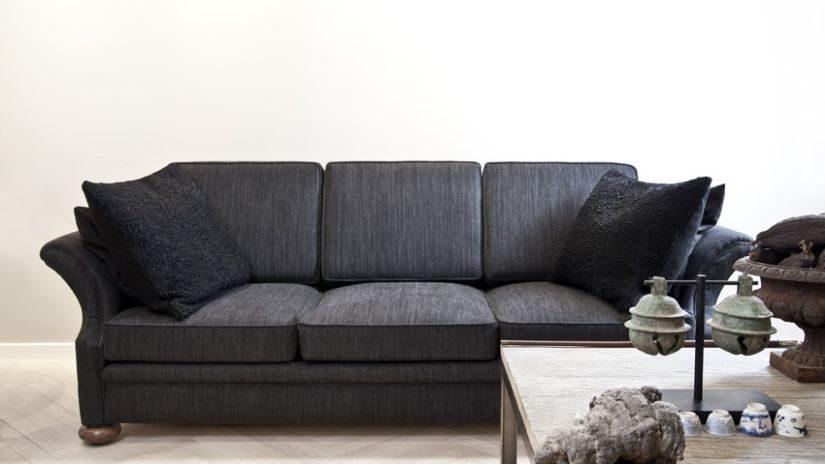 Ledersofa schwarz kissen  Sofa schwarz & Couch schwarz: Bis -70% | WESTWING