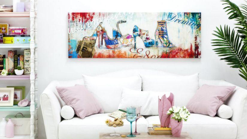 Dreisitzer Sofa weiß