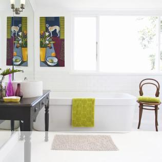 Badezimmerteppiche