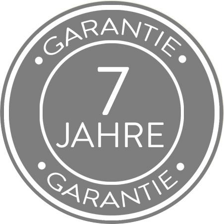 7 Jahre Garantie auf Matratzen