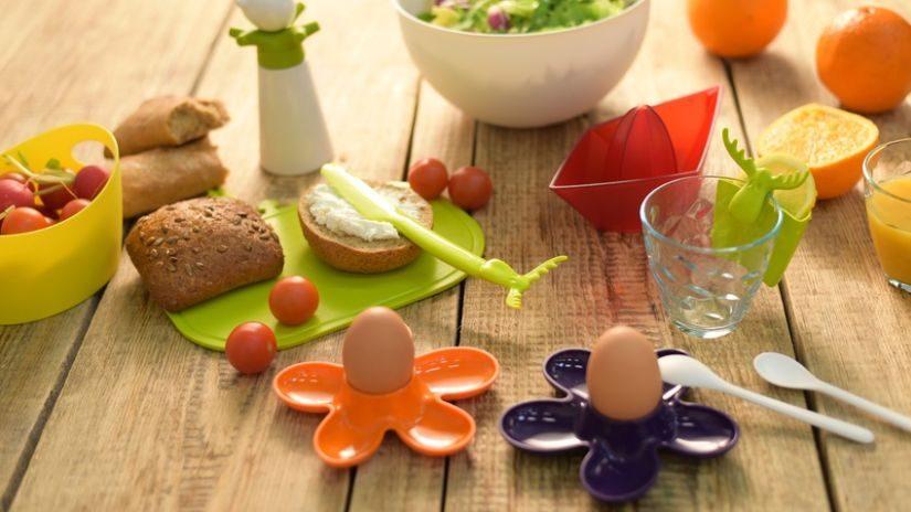 Design Eierlöffel aus Porzellan