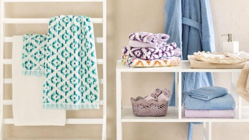 Handtuch petrolblau