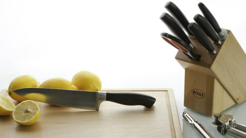 Messerblöcke als Teil der Messerpflege