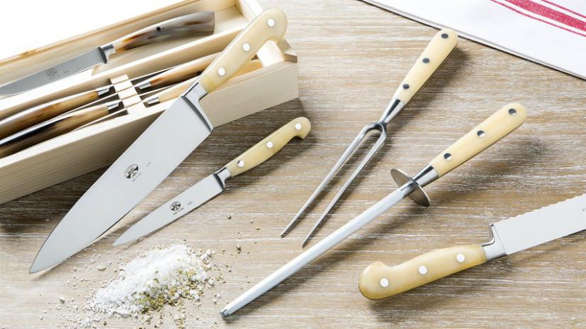 Messer schärfen für die Messerpflege