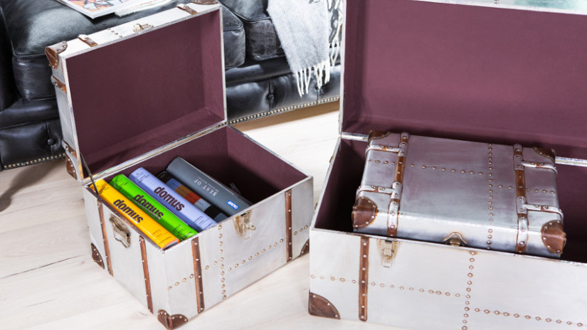 Schachteln basteln mit Koffern