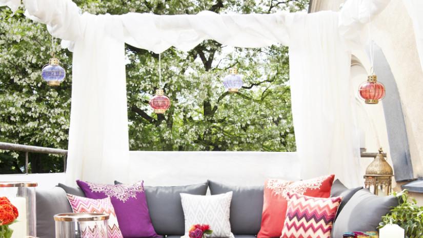 Design#5001429: Sichtschutz ideen: für draußen und drinnen | westwing. Ideen Balkon Sichtschutz