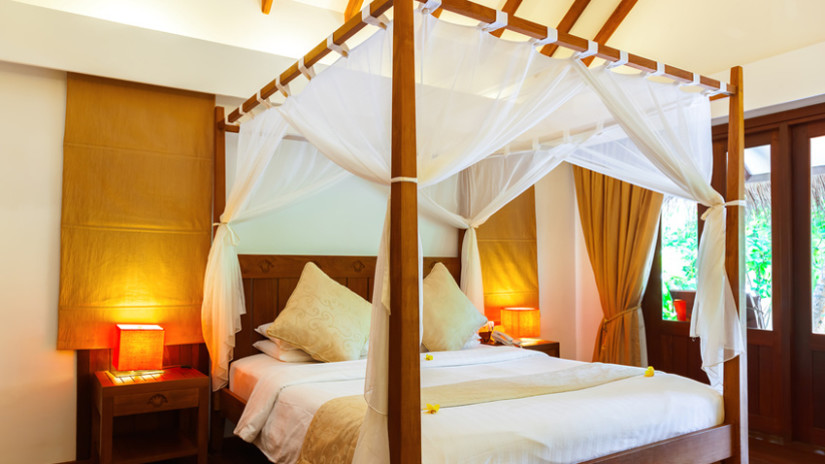 Sichtschutz Ideen für Ihr Schlafzimmer