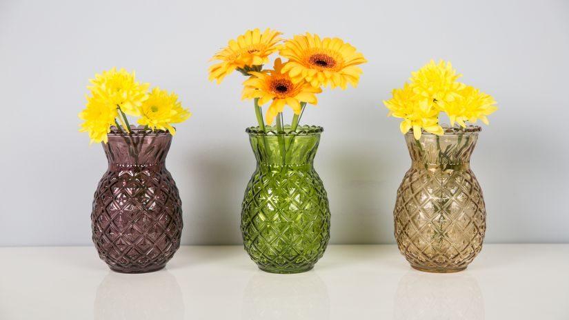 Kleine grüne Vase
