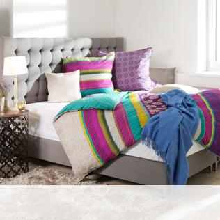 Polsterbett mit Bettkasten