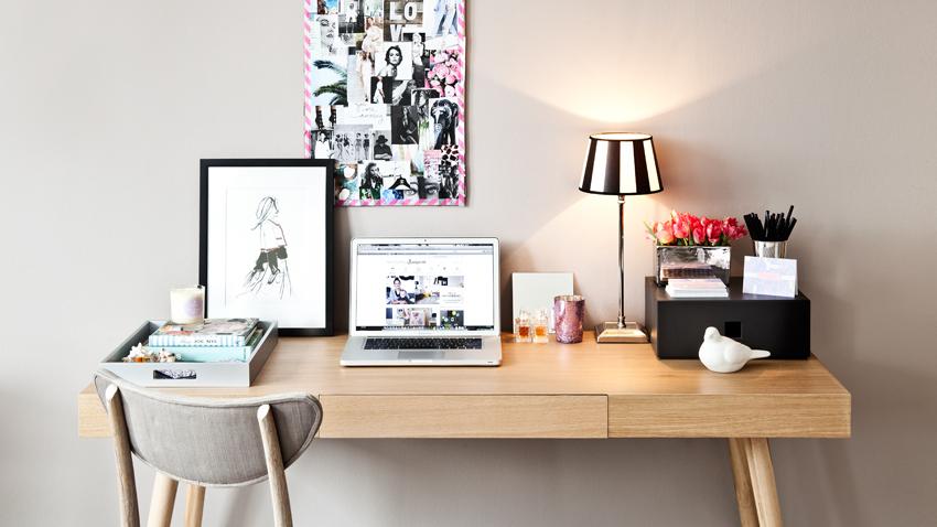 Schreibtisch holz natur  Schreibtisch Holz: Bis zu -70% Rabatt | WESTWING