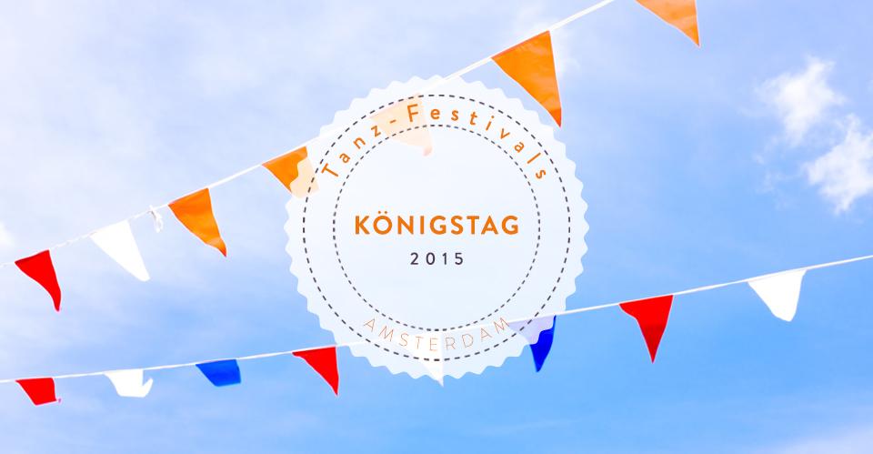 Tanz-Festivals Holland Königstag