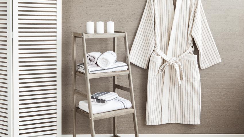 Handtuch weiß - Bademantel