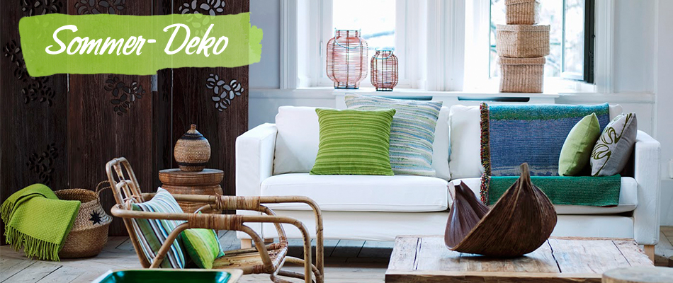 Die sommer deko trends 2015 westwing for Zimmer deko sommer