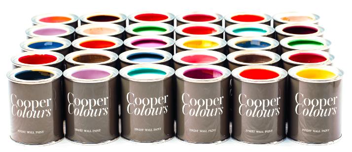 Farbeimer Cooper Colours