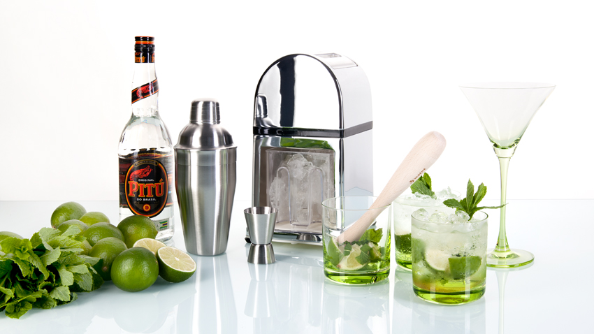 Cocktail - Eiswürfelmaschine