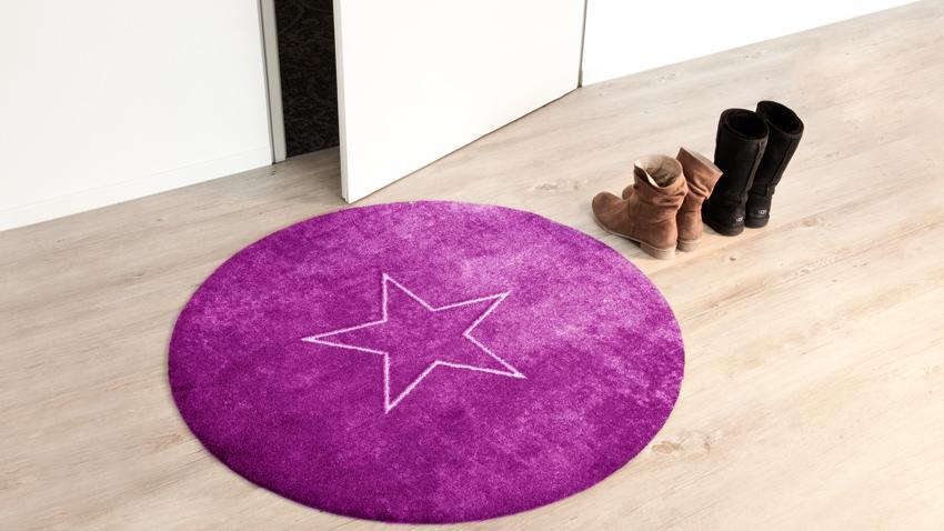 Fußmatte-lila