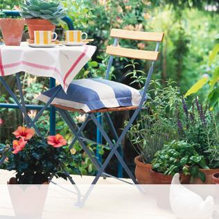 Gartenstühle Alu