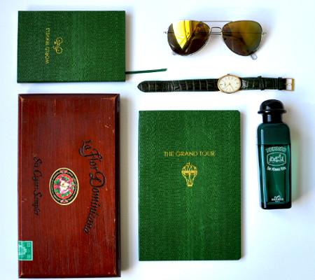 Sloane Stationery Notizbücher Grün