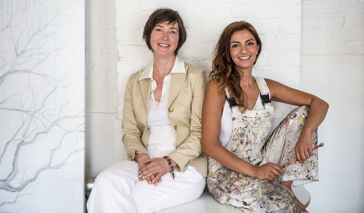Identity Art: Susanne Barklage & Shirin Donia