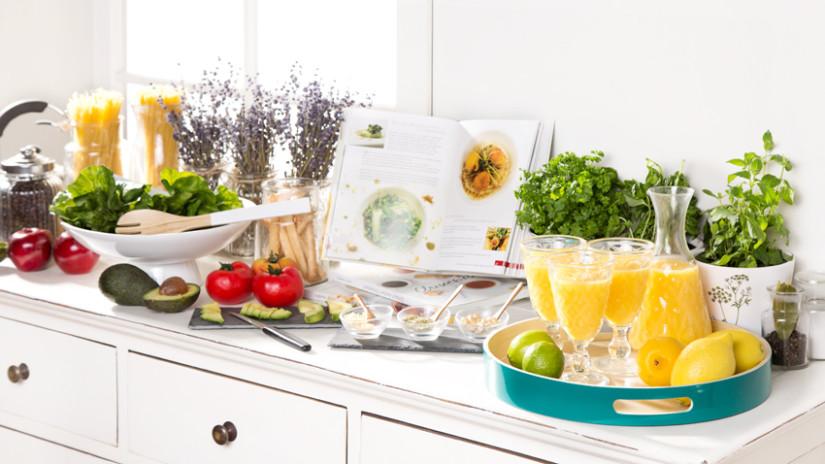 Landhaus-Küchenzeile