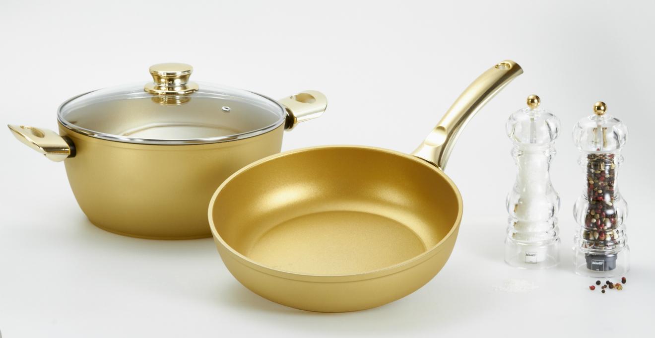 goldene pfanne