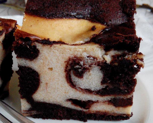 Marmorierter Cheesecake