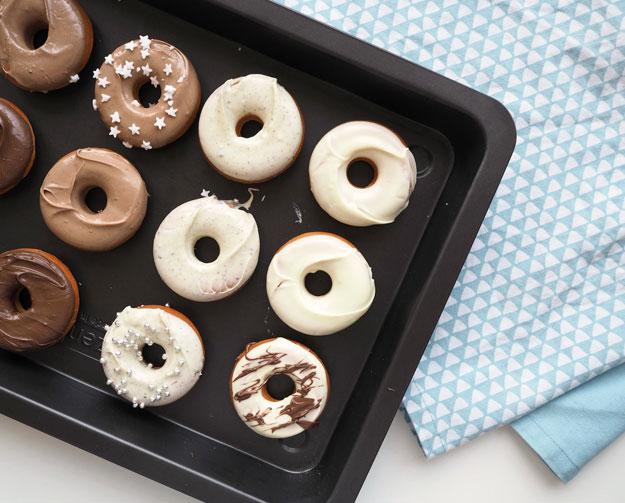Backofen Donuts von www.missgetaway.com
