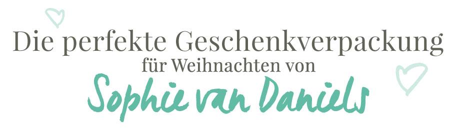 Idee für die weihnachtliche Geschenkverpackungen von basicapparel.de