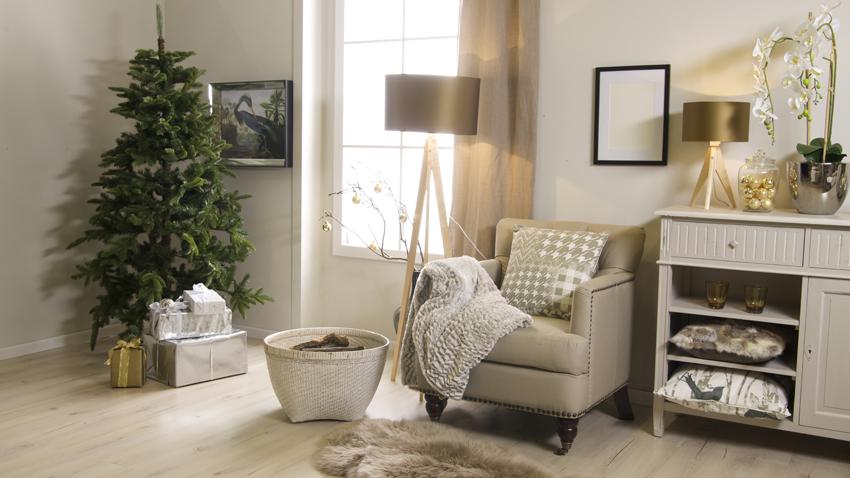 Weihnachten - Wohnzimmer - Christbaum