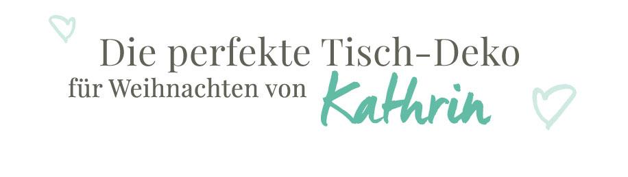 Tischdeko von Kathrin