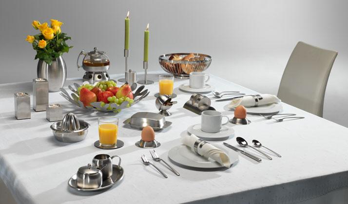 Berndorf Besteck gedeckter Tisch