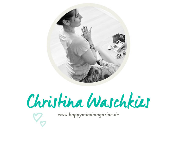 Christina Waschkies vom Happymindmagazine.de