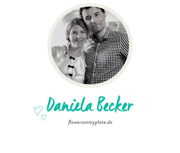 Daniela Becker von flowersonmyplate.de