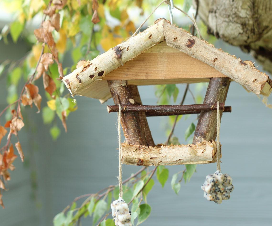 DIY Vogelfutterhänger selber machen