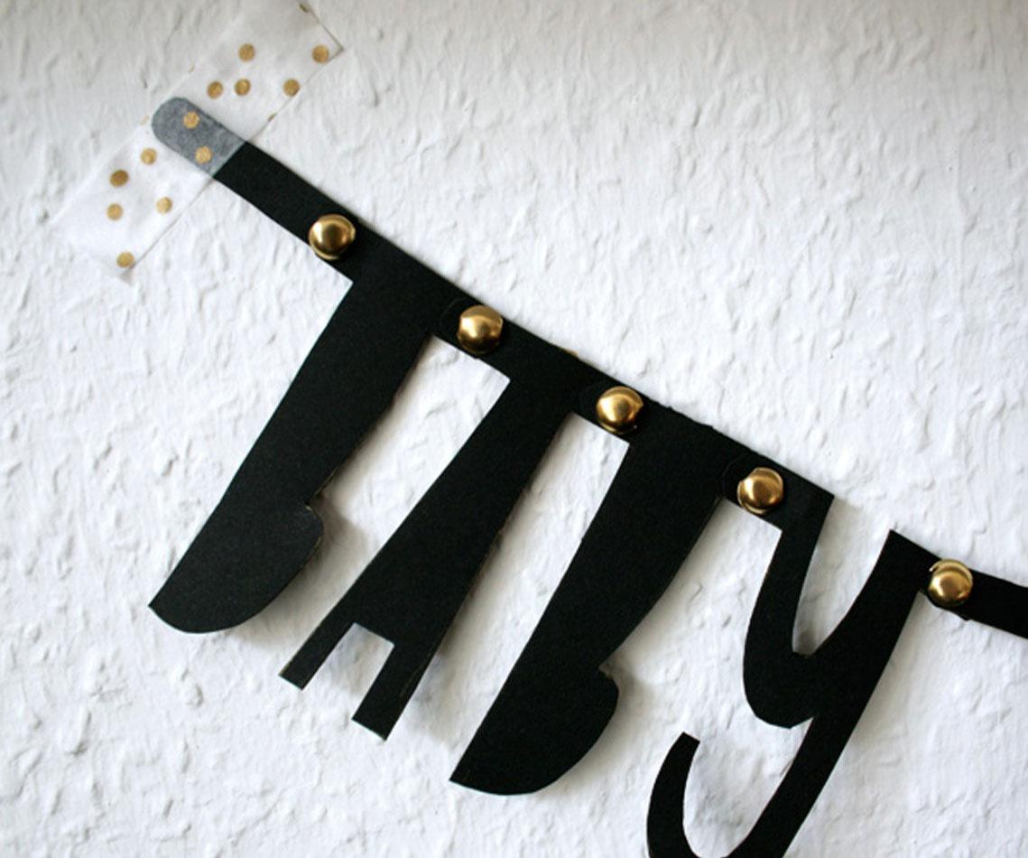 DIY Girlande von Zauberhafte Elv